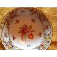 Тарелка-конфетница Schumann цветочный дизайн Bavaria