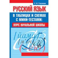 Русский язык в таблицах и схемах с мини-тестами: курс начальной школы