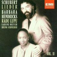 Schubert. Lieder, vol.II - Barbara Hendricks/Radu Lupu (Audio CD - 1993)