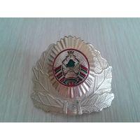 Кокарда МВД Беларуси, золотистая, 2000-2006 год
