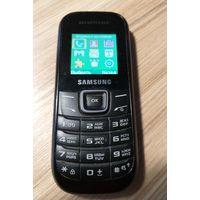 Телефон Samsung GT-E1200R на 1 симкарту, черный, б/у