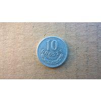 Польша 10 грошей, 1969г.(D-4)