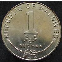 Мальдивы 1 руфия 1982 KM#73 (443)