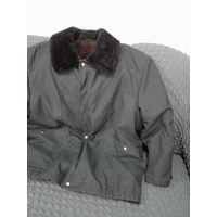 Куртка натуральный мех цигейка ссср