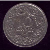 10 грош 1923 год Польша