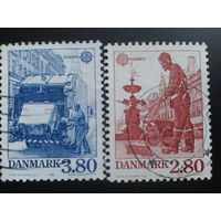 Дания 1986 Европа полная серия