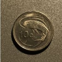Мальта 10 центов 1998 г.