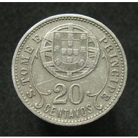 Португ. Сан-Томе и Принсипи 20 сентаво 1929