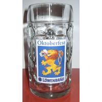 """Кружка для пива """" Lowenbrau """".0,5 л."""