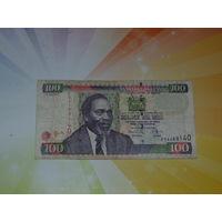 Кения 100 шилингов 2010г.