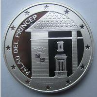 Андорра. 10 динеров 1997. Серебро. 279