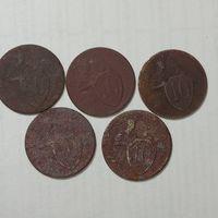 10 копеек 1931 год.   5 шт.
