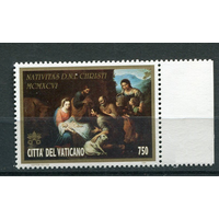 ВАТИКАН, 1996, Рождество Живопись (РН)