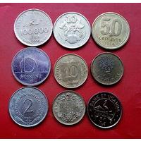 9 монеток - 9 стран. #45 Старт с 10 копеек.