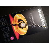 Часы Луч с браслетом - корпус позолота AU