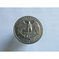 США 25 центов квотер 1998 P