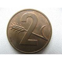 Швейцария 2 раппена 1969 г.