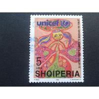 Албания 1996 ЮНИСЕФ