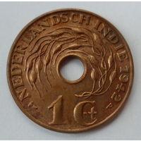 Голландская Ост-Индия 1 цент 1942