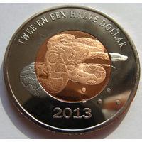 О.Бонайре 2,5 доллара 2013 г