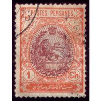 1 марка 1909 год Иран 288