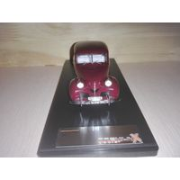VOLVO PV60 1947 Maroon Red .Premium X.1/43.