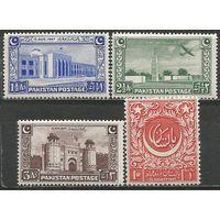 Пакистан.  1-я Годовщина Независимости. 1947г. Mi#20-23. Серия.