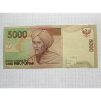 ИНДОНЕЗИЯ  5000 РУПИЙ  UNC