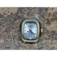 Часы Слава,позолоченные,маркировка au,редкие.Старт с рубля.