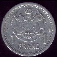 1 Франк 1943 год Монако