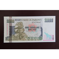 Зимбабве 1000 долларов 2003 UNC
