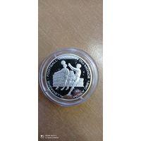КМ,#47 Congo 2001. 1000 francs ФУТБОЛ