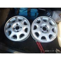 Литые диски форд r14   4 шт