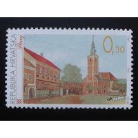 Хорватия 1995 стандарт, церковь