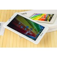 """Archos 70 Platinum 7.0"""" IPS (1024x600), Android, ОЗУ 1 ГБ, флэш-память 16 ГБ, 4 ядра, 1,3Ггц,  цвет белый, крышка алюминевая серебристая, шустрый, хорошее состояние, комплект в коробке, гарантия 1"""