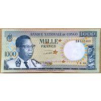 1000 франков 1964г.  -aUNC-