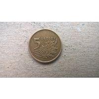 Польша 5 грошей, 1991г. ^