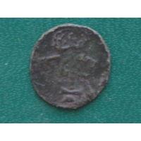 Фальшак двойного денария 1570г
