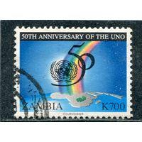 Замбия. 50 лет ООН