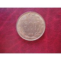 500 лир 1989 Турция (состояние!!!)