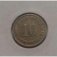 10 пфеннигов, Германия 1912 A, в холдере