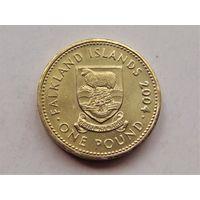 Фолклендские острова 1 фунт 2004