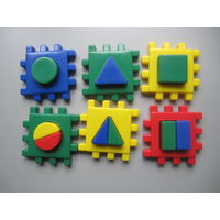 Куб развивающий с геометрическими фигурами