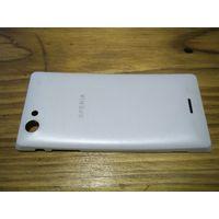 Для телефона Sony Xperia J - задняя крышка и бампер. Коробка.