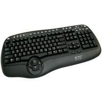 Мультимедийная проводная клавиатура BTC 8190A PS/2