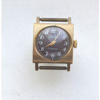 Часы Слава.17 камней СССР.Позолоченные Au 5.не идут.