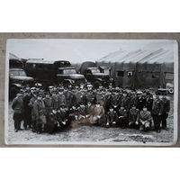 Фото участников совещания руководящего состава АТС Вооруженных сил. Минск. 1969 г. 15х24 см