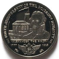 Британские Виргинские Острова 1 доллар 2013 года. Династия Романовых - Александр I