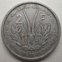Французская Западная Африка 2 франка 1948 г.