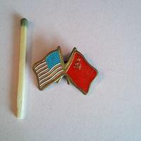 Значок США-СССР 2